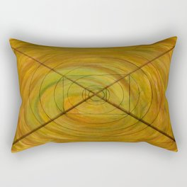 Right On Target, A Little Off Course Rectangular Pillow