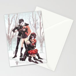 Blood on the Dance Floor - Unforgiven Stationery Cards