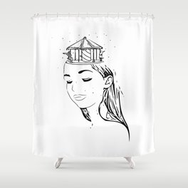Alter-ego Shower Curtain