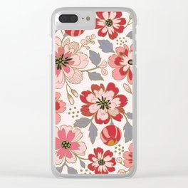 Russian Roses II Clear iPhone Case