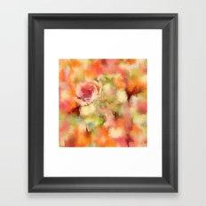 Dusty Rose Framed Art Print