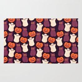 Halloween Marshmallows Rug