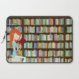 When in doubt, go to the library Laptop Sleeve