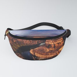 Horseshoe Bend Starseeds - Starry Sky Night at Grand Canyon Arizona Fanny Pack