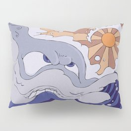 Mad Wave Pillow Sham