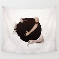 "teen wolf Wall Tapestries featuring Teen Wolf-""Dark Hearts"" by radruby"
