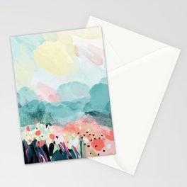 spring landscape Stationery Cards