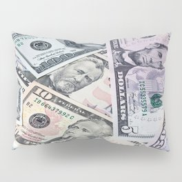 US Dollar Pillow Sham