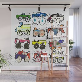 Monster Truck Kid Art by Tucker Wall Mural