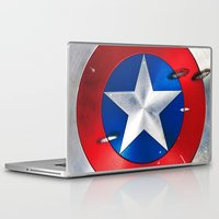 shield Laptop & iPad Skins featuring SHIELD by Smart Friend