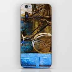 Blue Bicycle iPhone & iPod Skin
