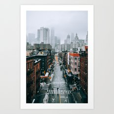 New York City - Manhattan Art Print