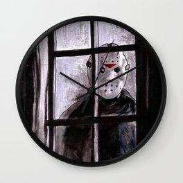 Jason Lives Wall Clock