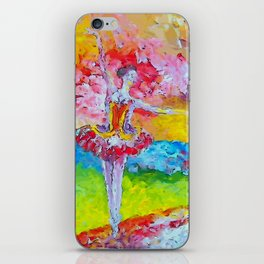 The pursuit of her dream remix iPhone Skin