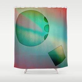 NO STUMBLE Shower Curtain