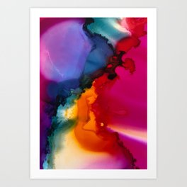 Kaleidescope Art Print