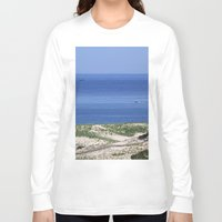 cape cod Long Sleeve T-shirts featuring Cape Cod by Heidi Ingram