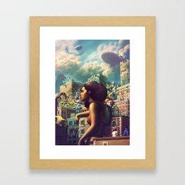 Pacifics Framed Art Print