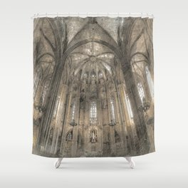 Cathedral in Shower Curtain