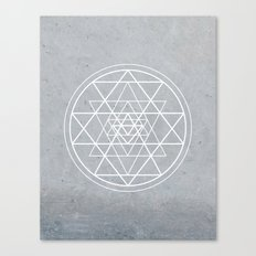 Sacred Geometry - Align At Your Center Canvas Print