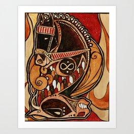Chariot II Art Print
