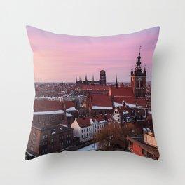 GDANSK 02 Throw Pillow