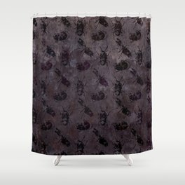 when the lights go out Shower Curtain
