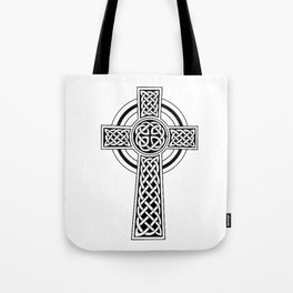Celtic Knot Cross Tattoo Tote Bag