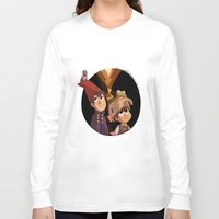 over the garden wall Long Sleeve T-shirts featuring Over the Garden Wall by stubbornpotato