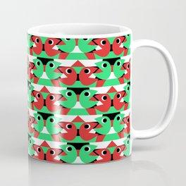 Kissing Pacmen Coffee Mug