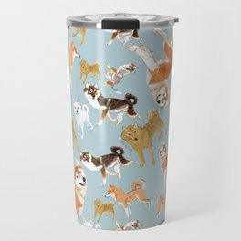 Japanese dogs Travel Mug