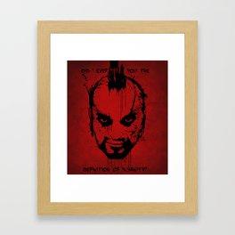 Far Cry 3 - The Definition of Insanity Framed Art Print