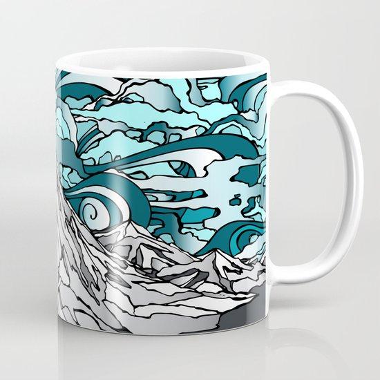 Turquoise Sky Coffee Mug