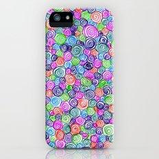 Do the Twist (bright) iPhone (5, 5s) Slim Case