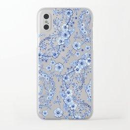 Blue Rhapsody Clear iPhone Case