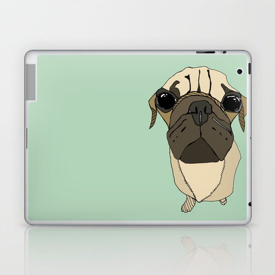 Puglet Laptop & iPad Skin