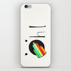 Oh! iPhone & iPod Skin