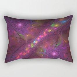 Colorful And Luminous Fractal Art Rectangular Pillow