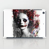 harley quinn iPad Cases featuring Harley Quinn by ururuty