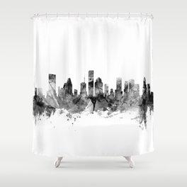 Houston Texas Skyline Shower Curtain