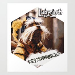 Sir Diddymus (Labyrinth) Art Print
