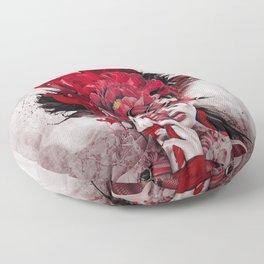 Poisonous Flowers Floor Pillow