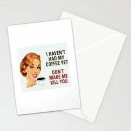 Coffee Kill Stationery Cards