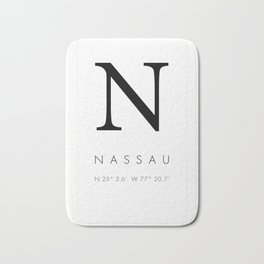 25North Nassau Bath Mat