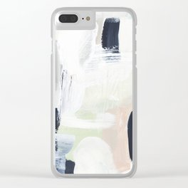 Sand & Sage Clear iPhone Case
