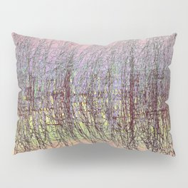 GRASS AND WATER ABSTRACT SUNSET Pillow Sham