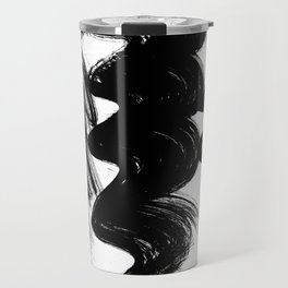 Brush stroke Travel Mug