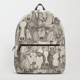 just cattle natural Backpack