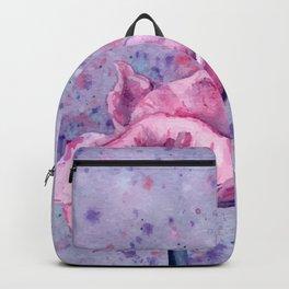 Lavender Floral Backpack