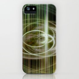 lineae abstracta iPhone Case